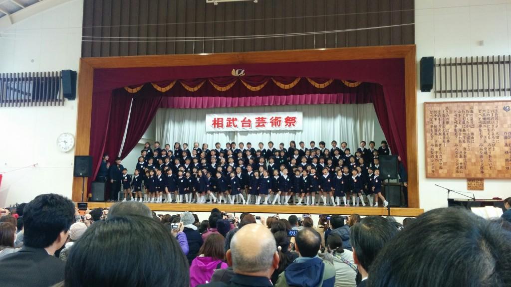 とってもかわいい相武台中央幼稚園園児による合唱