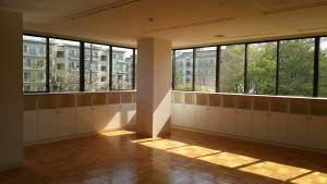 日当たりの良い2階コミュニティ室