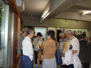 澤田美喜記念館で話を聞く