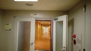 2階 大会議室入口